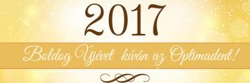 Boldog Újévet kíván az Optimadent